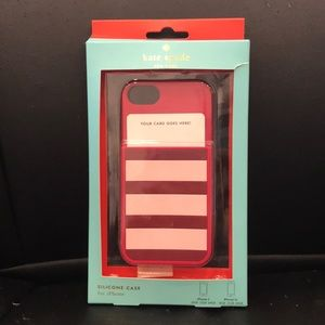 Kate Spade Silicone CardHolder iPhone 5/5s case